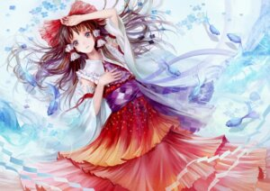 Rating: Safe Score: 29 Tags: hakurei_reimu kakyouka touhou User: blooregardo