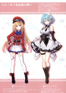 Rating: Questionable Score: 30 Tags: dress eterna-radiare maid riichu stockings tagme thighhighs User: kiyoe