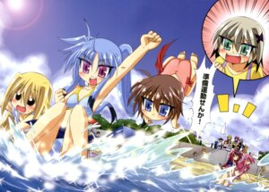 Rating: Safe Score: 6 Tags: amitie_florian bikini kyrie_florian mahou_shoujo_lyrical_nanoha mahou_shoujo_lyrical_nanoha_a's_the_gears_of_destiny material-d material-l material-s swimsuits yuri_eberwein User: drop