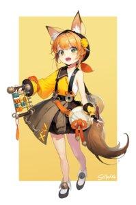 Rating: Safe Score: 18 Tags: animal_ears kitsune soyoong_jun tagme tail User: Dreista