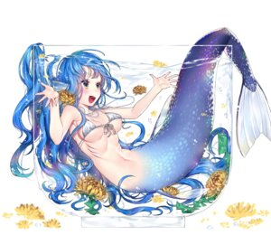 Rating: Safe Score: 36 Tags: bikini_top mermaid mgim2285 monster_girl tail wardrobe_malfunction User: BattlequeenYume