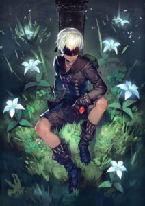 Rating: Safe Score: 9 Tags: katahira male nier_automata sword yorha_no._9_type_s User: charunetra