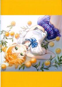 Rating: Questionable Score: 15 Tags: ancotaku hoshizora_rin love_live! seifuku sentiment_color User: Radioactive