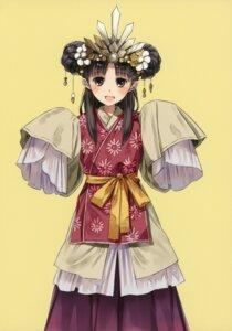 Rating: Safe Score: 19 Tags: japanese_clothes kishida_mel maigo_tsuushin User: fireattack