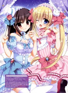 Rating: Safe Score: 43 Tags: cleavage dress nanaca_mai thighhighs User: drop