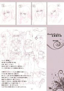Rating: Safe Score: 5 Tags: hirohara_honoka monochrome shoujo_shiniki_shoujo_tengoku sketch User: Hatsukoi