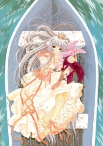 Rating: Safe Score: 12 Tags: chii chobits clamp dress feet lolita_fashion User: Share