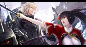 Rating: Safe Score: 19 Tags: armor pixiv_fantasia pixiv_fantasia_sword_regalia ryuuzaki_itsu sword User: fairyren