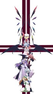 Rating: Safe Score: 10 Tags: flandre_scarlet hong_meiling izayoi_sakuya koakuma oinari patchouli_knowledge remilia_scarlet touhou User: Radioactive