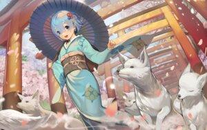 Rating: Questionable Score: 15 Tags: jpeg_artifacts kimono re_zero_kara_hajimeru_isekai_seikatsu rem_(re_zero) tagme umbrella User: Mr_GT