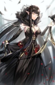 Rating: Safe Score: 23 Tags: cleavage dress fate/apocrypha fate/stay_night grape pointy_ears semiramis_(fate) User: charunetra