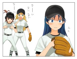 Rating: Safe Score: 4 Tags: a1 baseball futami_ami hoshii_miki initial-g kisaragi_chihaya the_idolm@ster uniform User: Radioactive