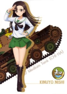 Rating: Safe Score: 28 Tags: girls_und_panzer nishi_kinuyo seifuku silhouette User: drop
