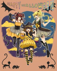 Rating: Safe Score: 4 Tags: bekkourico halloween umineko_no_naku_koro_ni ushiromiya_ange ushiromiya_jessica ushiromiya_maria User: 洛井夏石