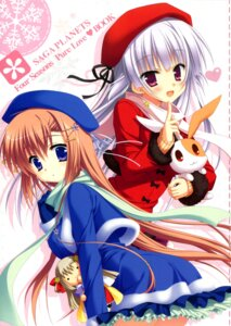 Rating: Safe Score: 42 Tags: hatsuyuki_sakura hontani_kanae saga_planets tamaki_sakura User: Twinsenzw