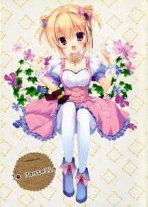 Rating: Questionable Score: 47 Tags: canvas+garden dress hoshigaoka_ciel miyasaka_miyu pantyhose User: kaguya940385