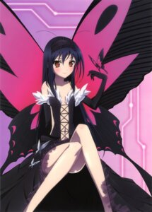 Rating: Questionable Score: 43 Tags: accel_world detexted kuroyukihime nomura_masashi wings User: yyx007