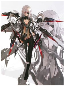 Rating: Safe Score: 57 Tags: bodysuit eyepatch kaku-san-sei_million_arthur mecha_musume nil User: gogotea28