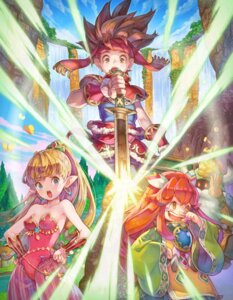 Rating: Safe Score: 9 Tags: cleavage leotard pointy_ears seiken_densetsu sword tagme User: NotRadioactiveHonest