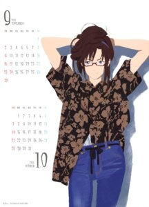 Rating: Safe Score: 9 Tags: calendar honda_takeshi makinami_mari_illustrious megane neon_genesis_evangelion User: drop