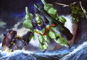 Rating: Safe Score: 4 Tags: gun gundam mecha sword takaya_hirotoshi victory_gundam User: drop