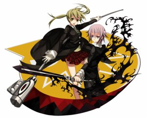 Rating: Safe Score: 15 Tags: maka_albarn makenshi_chrona osamu soul_eater User: Syko83