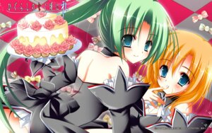 Rating: Questionable Score: 16 Tags: higurashi_no_naku_koro_ni natsuki_coco ryuuguu_rena sonozaki_mion wallpaper User: Velen