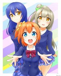 Rating: Safe Score: 7 Tags: fuurin0121 kousaka_honoka love_live! minami_kotori seifuku sonoda_umi User: Mr_GT