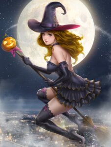 Rating: Safe Score: 36 Tags: dress halloween heels john_law_bc thighhighs witch User: Mr_GT