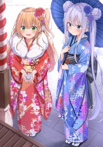 Rating: Safe Score: 52 Tags: kimono umbrella xue_lu User: Mr_GT