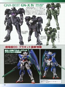 Rating: Safe Score: 6 Tags: 00_qan[t] character_design ebikawa_kanetake gn-xiv gundam gundam_00 gundam_00:_a_wakening_of_the_trailblazer mecha photo sword User: harimahario
