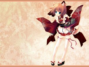 Rating: Safe Score: 20 Tags: animal_ears chronolog inumimi i.s.w sakurazawa_izumi tail waitress wallpaper User: mieyu