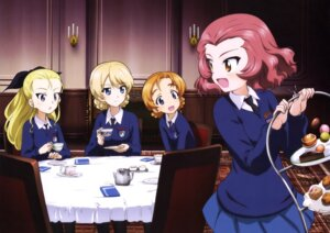 Rating: Safe Score: 11 Tags: assam darjeeling girls_und_panzer orange_pekoe rosehip seifuku sweater User: drop
