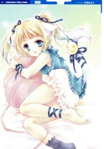 Rating: Safe Score: 21 Tags: animal_ears feet hayase_akira nekomimi User: cheese