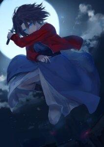 Rating: Safe Score: 18 Tags: kara_no_kyoukai kumamoto_nomii-kun ryougi_shiki weapon User: animeprincess