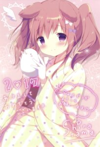 Rating: Safe Score: 58 Tags: animal_ears kimono shiratama User: Twinsenzw