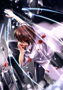 Rating: Safe Score: 14 Tags: blood boku_to_kanojo_ni_furu_yoru male misaki_kurehito User: fireattack