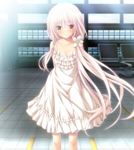 Rating: Safe Score: 83 Tags: chrono_clock dress game_cg koku kuro_(chrono_clock) purple_software summer_dress User: donicila