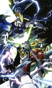 Rating: Safe Score: 8 Tags: altron_gundam gundam gundam_wing mecha sword tallgeese_ii User: Radioactive