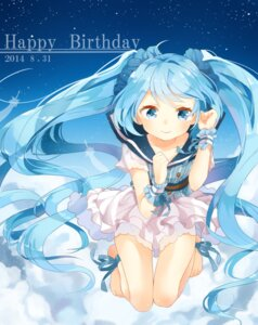 Rating: Safe Score: 39 Tags: hatsune_miku jimmy vocaloid User: Zenex