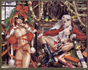 Rating: Questionable Score: 31 Tags: breasts christmas crease loli naked_ribbon nipples pantsu see_through shirow_masamune User: Radioactive