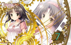 Rating: Safe Score: 27 Tags: calendar chrono_clock purple_software suzuki_miu tsukimori_hiro wallpaper User: moonian