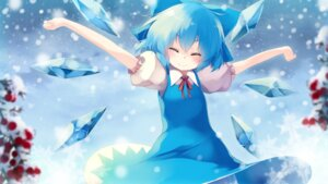 Rating: Safe Score: 32 Tags: cirno dress gengetsu_chihiro touhou wallpaper wings User: Mr_GT