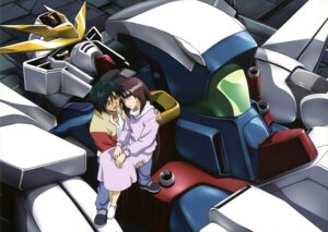 Rating: Safe Score: 7 Tags: garrod_ran gundam gundam_x mecha tiffa_adill User: Radioactive