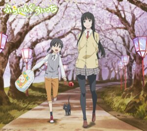 Rating: Safe Score: 49 Tags: flying_witch kowata_makoto kuramoto_chinatsu neko pantyhose seifuku User: Korino