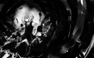 Rating: Safe Score: 6 Tags: ex_rumia hinomaru_(artist) monochrome rumia touhou wallpaper User: charunetra