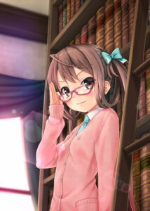 Rating: Safe Score: 34 Tags: asagumo_(kancolle) gotou_hisashi kantai_collection megane seifuku sweater User: mash