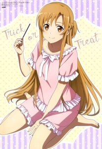 Rating: Safe Score: 45 Tags: asuna_(sword_art_online) halloween pajama sword_art_online_alicization tagme User: drop