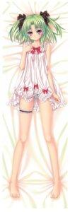Rating: Questionable Score: 65 Tags: dakimakura erect_nipples garter kannatsuki_noboru lingerie pantsu shimapan User: gogotea28