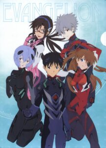 Rating: Safe Score: 28 Tags: ayanami_rei bodysuit eyepatch ikari_shinji makinami_mari_illustrious megane nagisa_kaworu neon_genesis_evangelion souryuu_asuka_langley User: Radioactive